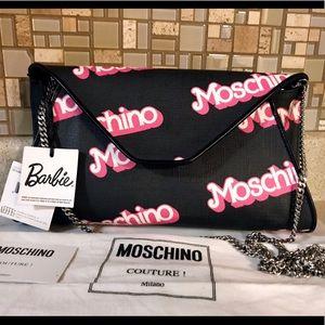 Auth. Moschino Rare Limited Ed Barbie Envelope Bag
